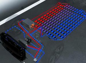 e-tron batterikjøling
