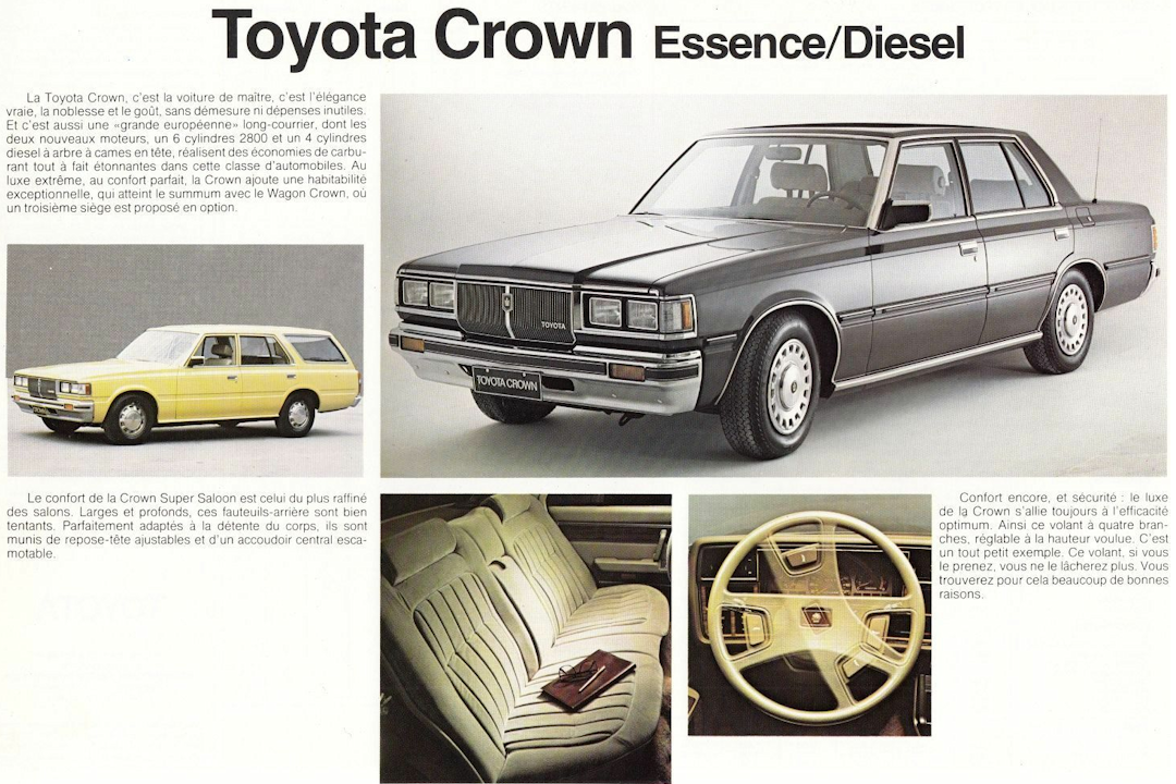 toyota Crown reklame