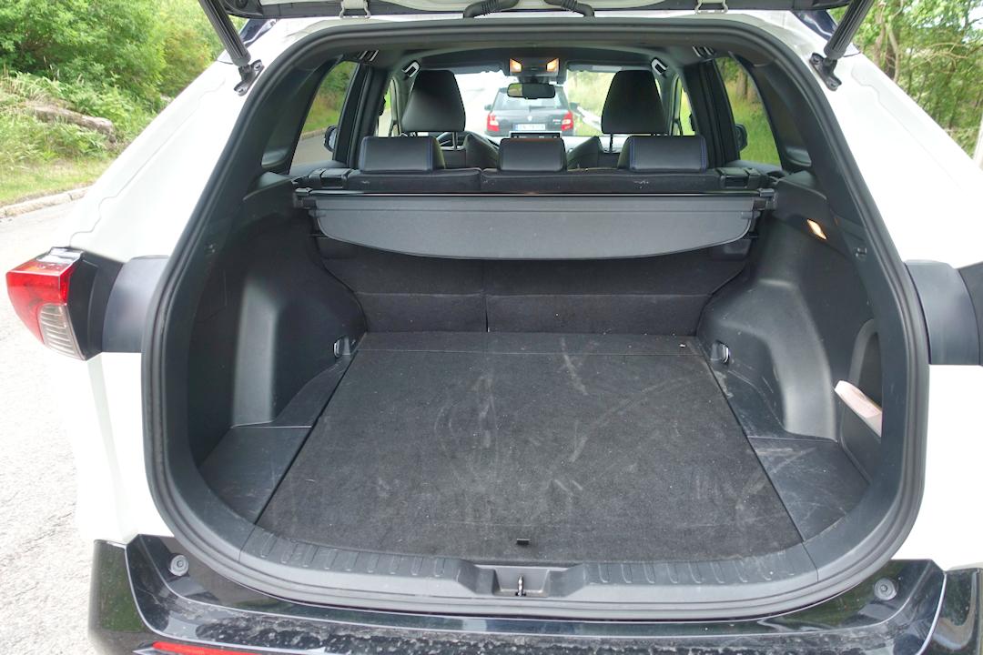 Toyota RAV4 bagasjerom