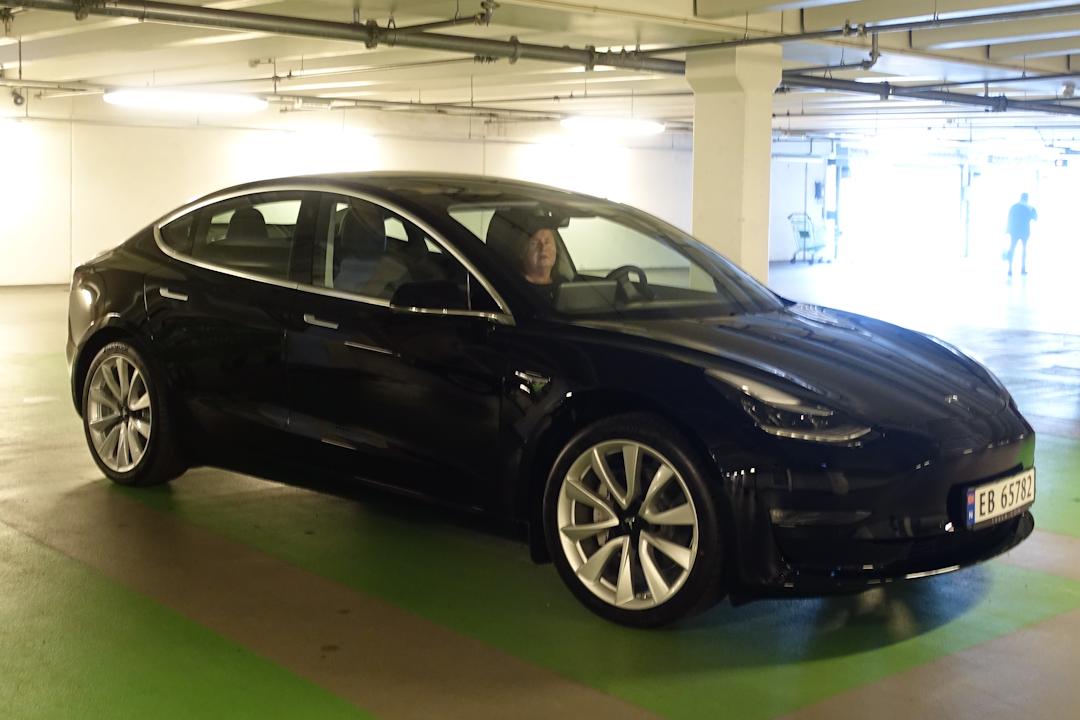 Teslas bestillingssystem