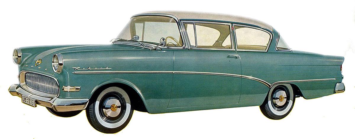 1957 opel rekord