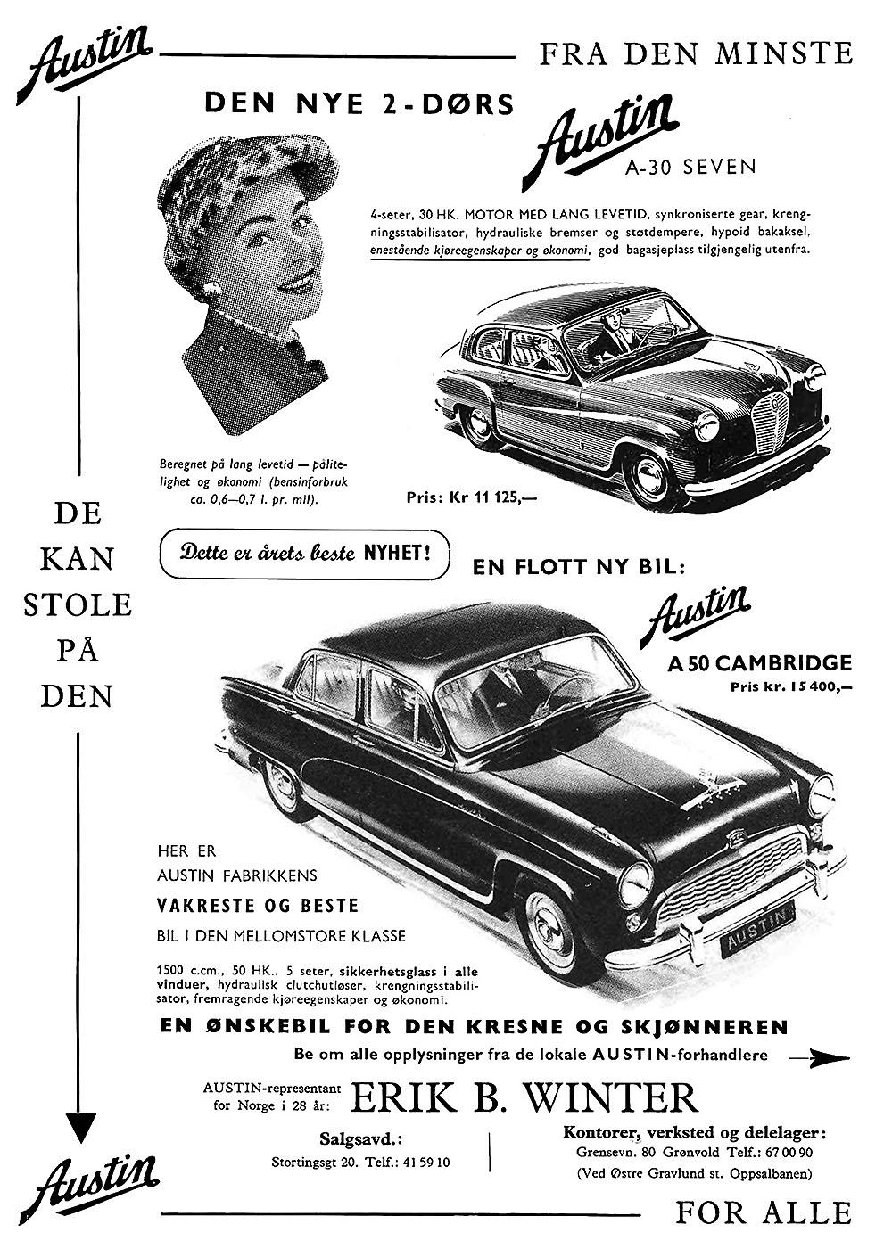 reklame 1954